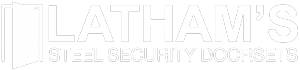 Latham's Steel Doors Logo