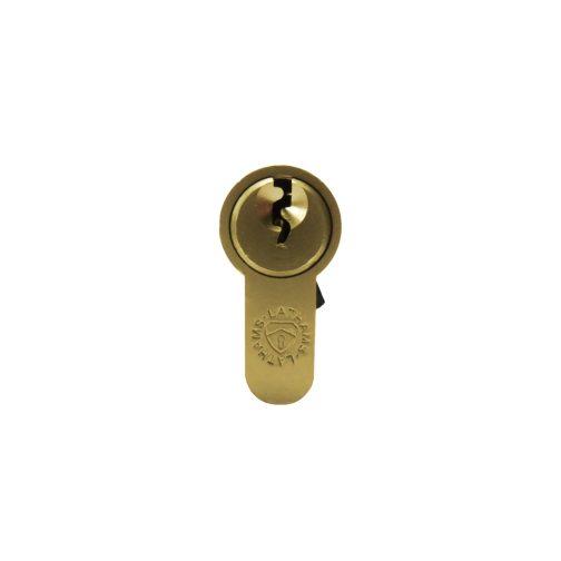 Half brass cylinder front view
