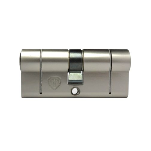 Front of Nickel Euro Cylinder