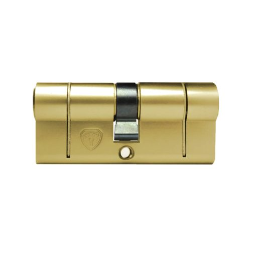 Front of Brass Euro Cylinder