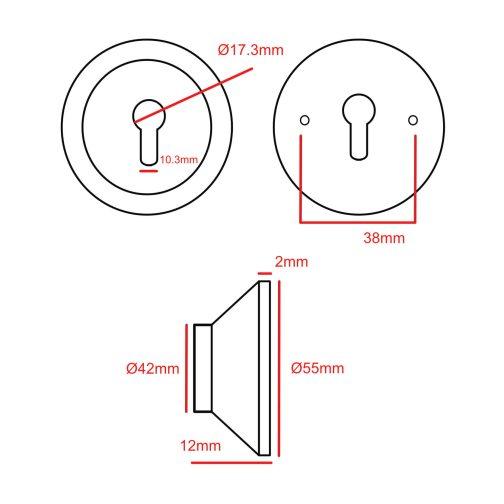 escutcheon CAD