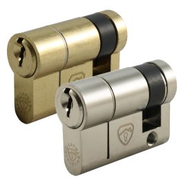 Half Euro Cylinder Anti Snap Lock