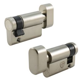 Half Thumb Turn Euro Cylinder (No Keys)