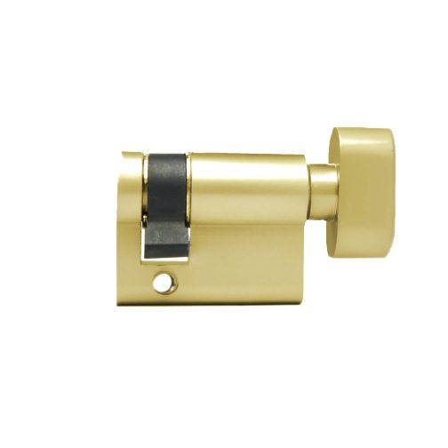 half thumbturn side brass