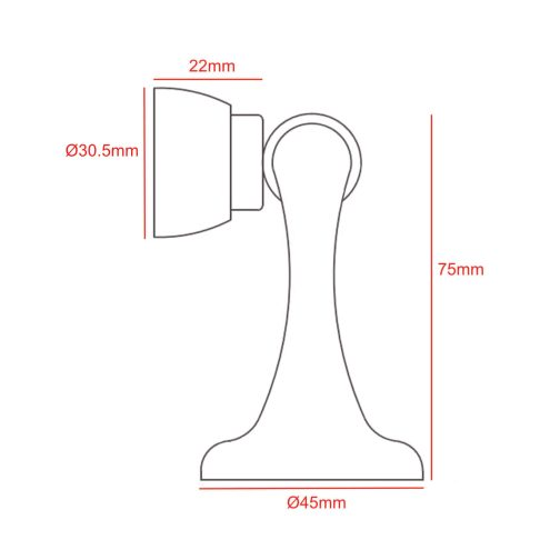 option 1 door holder CAD