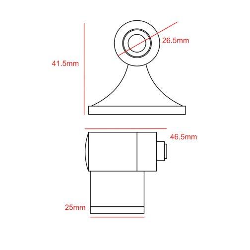 option 4 door holder CAD
