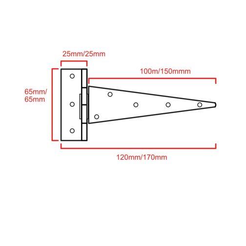 Light Tee Hinge CAD