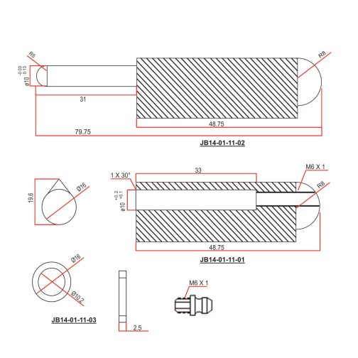 100mm-Grease-function-Bullet-Hinge-cad