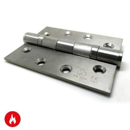 4″ x 3″ Satin Stainless Steel Butt Hinge
