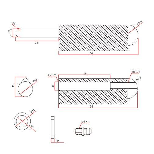 80mm-Grease-Function-Bullet-Hinge-cad