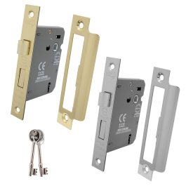 3 Lever Sashlock with Removable Plate