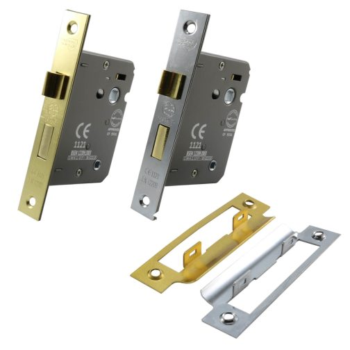 Cylinder mortice bathroom lock range