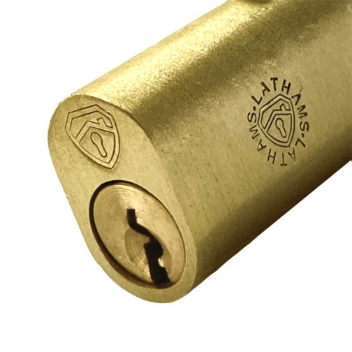 Close up Oval Bullet Lock