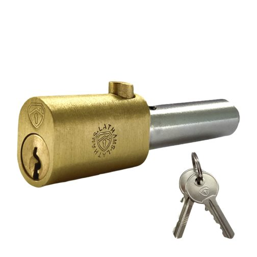 Oval Bullet Lock with Keys