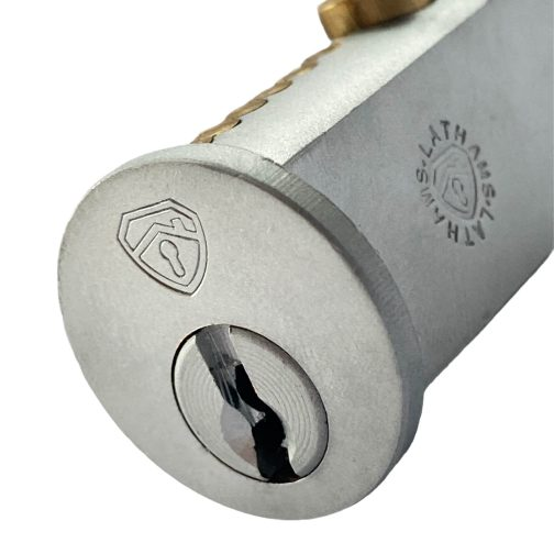 Close up of Round Face Bullet Lock