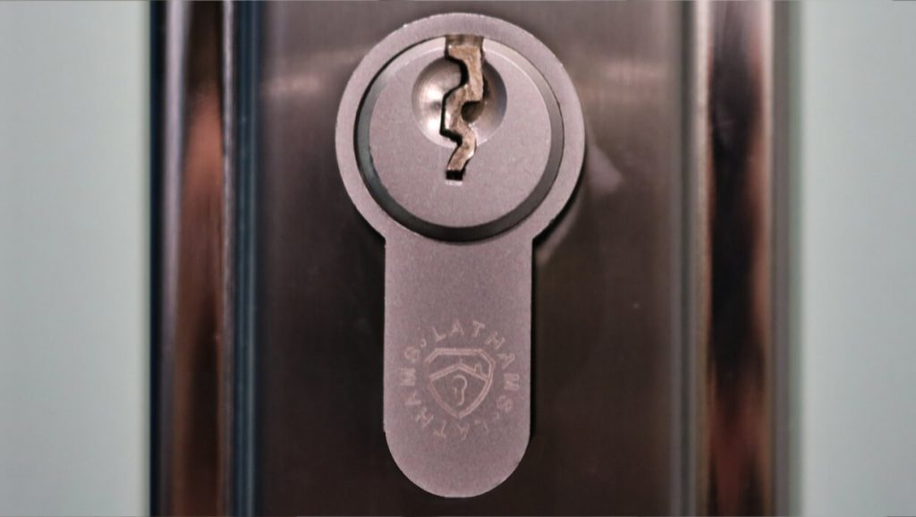 Key broken inside euro cylinder